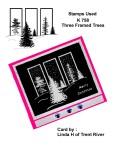 Card: Winter Midnight Stamp: K 758
