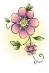 J 09010 Spring Flower