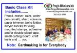 Post Basic Class Kit
